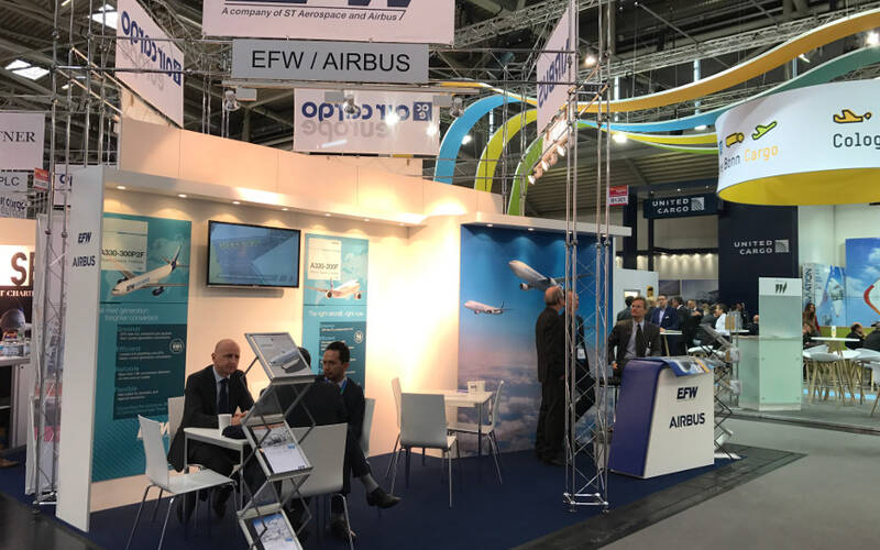 EFW/Airbus bei der AirCargoEurope