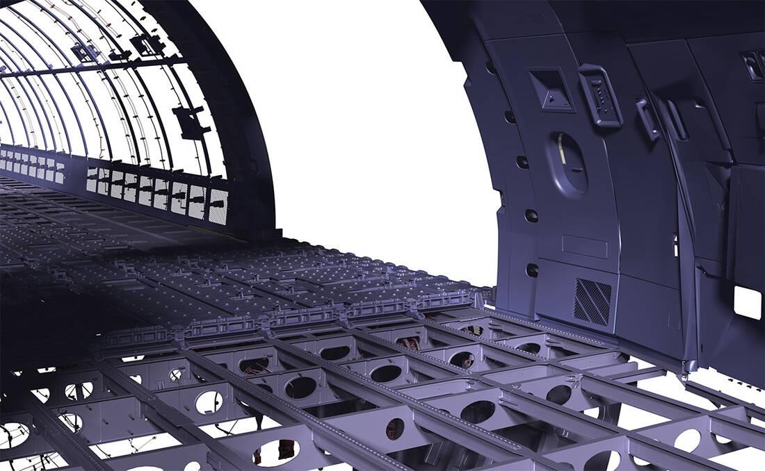 Fußbodenplatten Flugzeug ~ Efw modifikationen an flugzeugstruktur und systemen