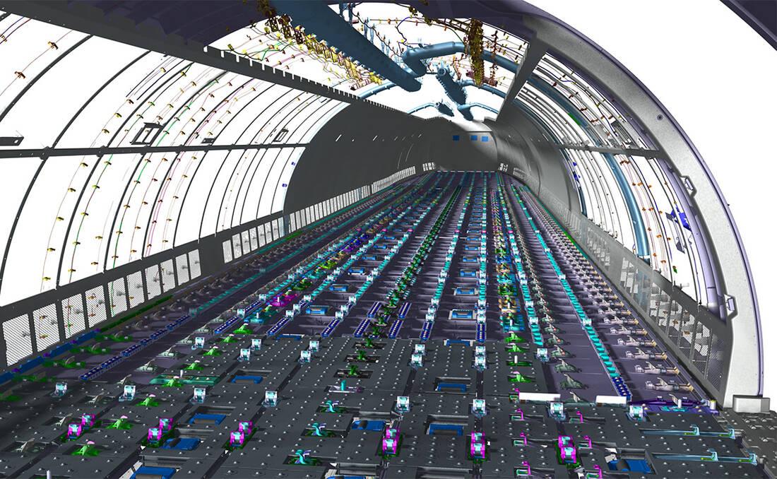 Fußbodenplatten Flugzeug ~ Kunststoff oder metall neue materialien im flugzeugbau flug revue