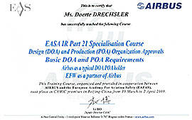 EASA IR Part 21 Spcialisation Course