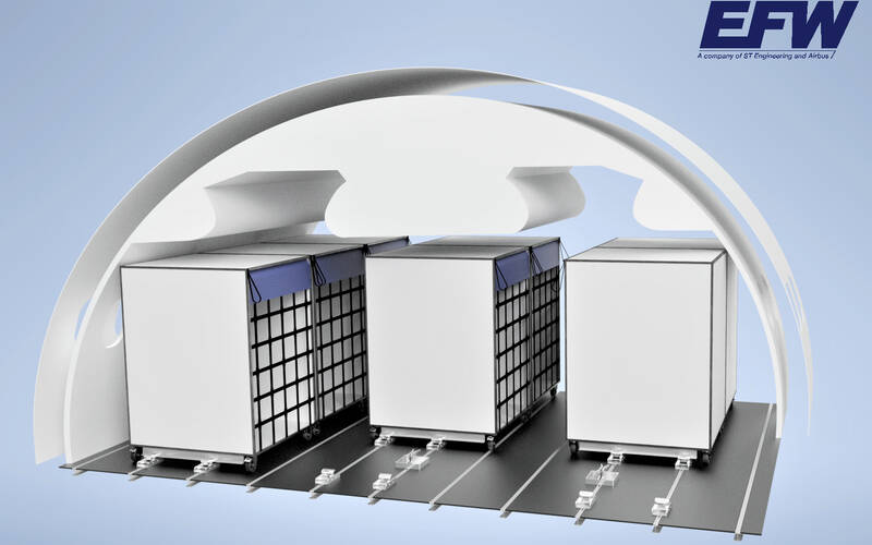 New EFW Cabin Cargo Box solution boosts freight capacity of passenger aircraft
