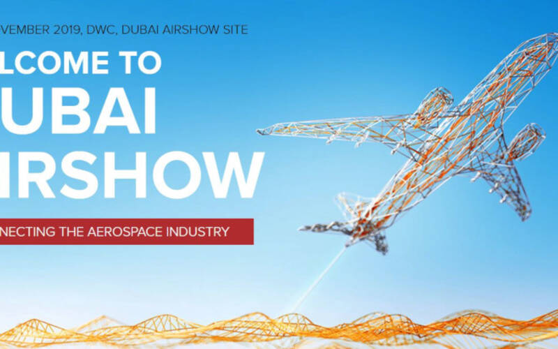 [Translate to German:] The Fast & Fabulous: new conversion freighter A330-200P2F at Dubai Airshow