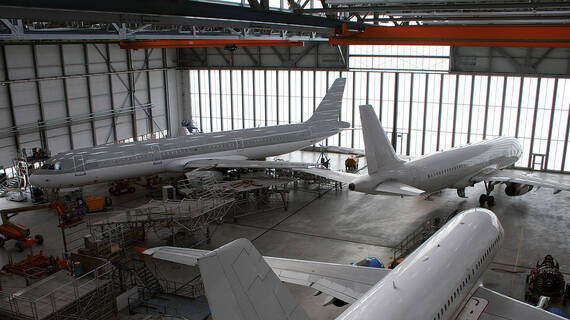 Maintenance repair organisation for A320 family